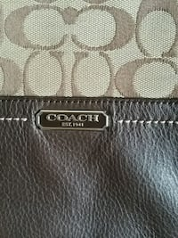 BROWN LEATHER COMBINED WITH LEATHER  COACH Oshawa, L1K 0B9