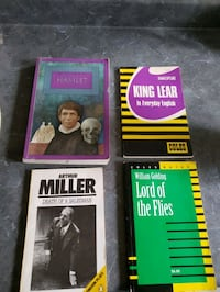 Coles Notes/Textbooks/Play/Books -Teen/Adult ~Shakespeare/Hamlet &More