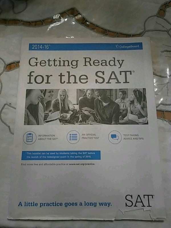 2014-16 Getting Ready For the SAT book