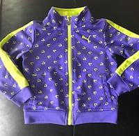 Purple and lime puma jacket size 24mth Winnipeg, R2V 4L2