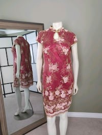 Formal Chinese style dress Toronto, M4S 1Z4