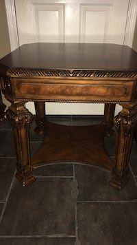 2 Wooden table great condition