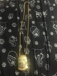 Gold chain with pendant Aurora, L4G 4T8
