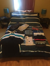 Teen/Youth clothing lot 1963 km