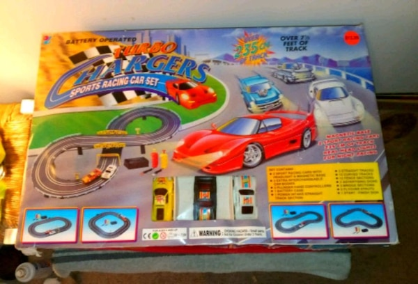 VINTAGE TURBO CHARGERS SPORTS RACING CAR SET