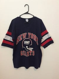 black and red New York Giants jersey shirt Ajo, 85321