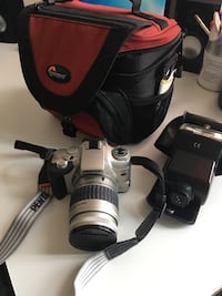 Pentax camera - not digital ; comes with flash and camera bag ; orig bill included London, N6H 4T6