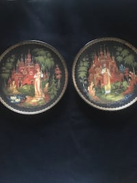 Russian Fairy Tale plates 4- by Bradex, MINT EXCELLENT condition- collectors love these Lacey, 98516