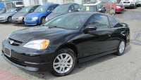 2002 HONDA CIVIC COUPE New Westminster