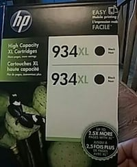 Black ink cartridge , one new. Other 50%