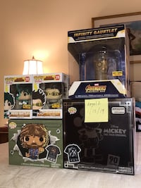 FUNKO Pop  Bundle Set to go as is meet local place Fairfax, 22031