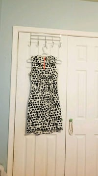 black and brown leopard print sleeveless dress 549 km
