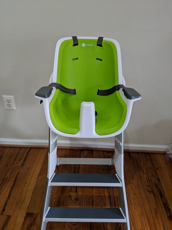 4moms high chair - easy to clean with magnetic, one-handed tray attachment 1