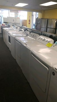 GE new scratch and dent top load set washer dryer  Randallstown