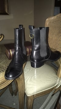 Women's Ralph Lauren black leather bootie size 8 1/2 Oakville, L6K 1Y8