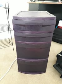 4 drawer plastic bin MIDDLETOWN
