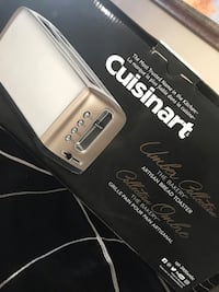 Brand New Cuisinart Artisan Breads Long Slot Toaster. Original Price $140. Calgary, T2Y 4J2