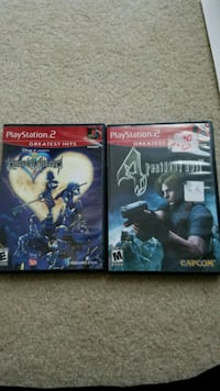 Kingdom Hearts & Resident Evil 4 PS2 Olney, 20832