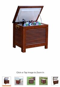 Merry Products Wooden Patio Cooler 2059 mi