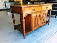 Buffet Table, 1940's Lake Forest