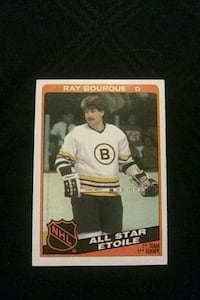 1984 O PEE CHEE RAY BOURQUE HOCKEY CARD BOSTON BRUINS EXCELLENT COND.