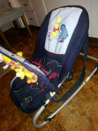 baby's blue and red bouncer Socorro, 79927