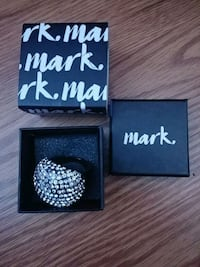 Mark by AVON the height of sparkle cocktail ring  Colchester, 06415