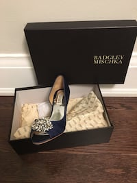 Pair of Royal Blue Badgley Mischka Shoes with box Toronto