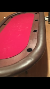 Authentic Poker table  Hampstead, H3X 1L8
