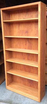 6 Tier Oak Bookcase / Bookshelf / Storage Display Shelves Lakeville, 55044