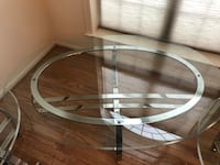 Round clear coffee table Silver Spring, 20910