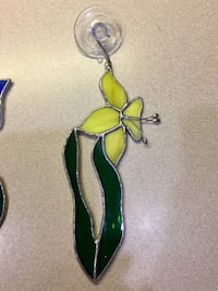Stain glass hanging flower ornaments Norman, 73071