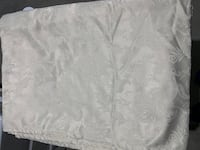 Full size cream / ivory tablecloth