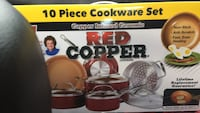 Red copper cookware Knoxville, 37931