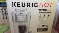 white and gray Keurig coffeemaker box Mississauga, L5M 4K9