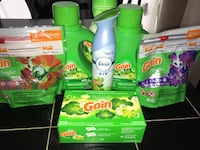 Gain detergent bottle and pack Charlotte, 28105