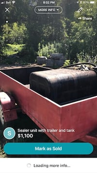 Sealer unit with trailer and tank  Vaughan, L4L 7K3