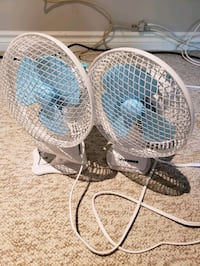Two vivosun clip on fans