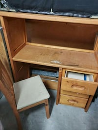 Captain twin bed with desk, dresser and nightstand Conroe, 77385