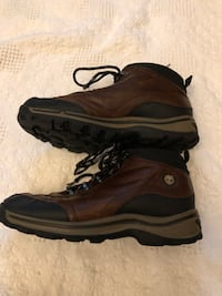 Timberland brown leather boy boots Size 6 Hagerstown, 21742