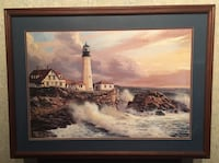 "Lighthouse a Picture 29""x39"" Milton, 17847"