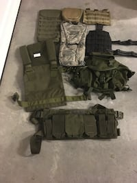 Various tactical gear  Knoxville, 37931