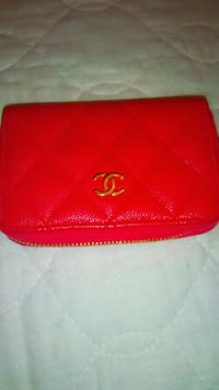 Pink Chanel zippy o card holder/coin purse Vancouver, V5N 3B8