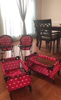 Doll chairs and pack n' plays Upper Marlboro, 20774
