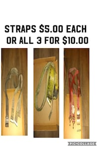 Straps $5. Each or all 3 for $10. Las Vegas, 89104