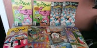 8 red and Stimpy show comic books 2 are repeat and Cranston, 02910