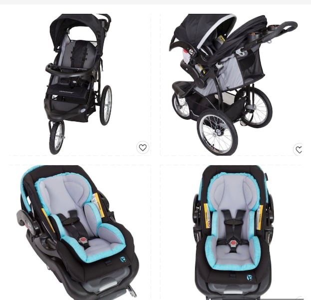 Two baby essentials babytrend stroller and car seat removable  cacc7771-4fa7-4587-a7ca-10d40dffa1ea