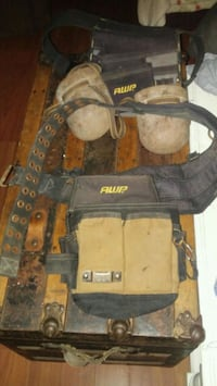 tool belts and knee pads Mason