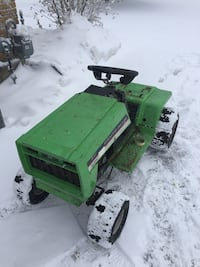 Racing lawn tractor project Zorra, N0M 2M0
