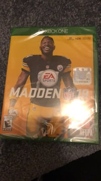 EA Sports Madden NFL 17 Xbox 360 game case Baltimore, 21229